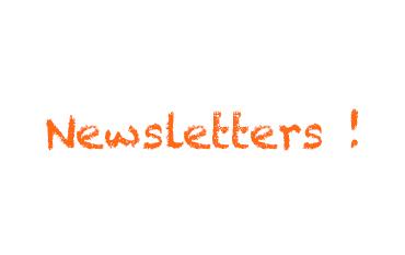 Tem visto as nossas newsletters?