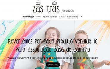 Nova parceria com a Zas Tras for babies