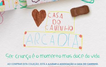 2º aniversário da parceria com a Arcádia